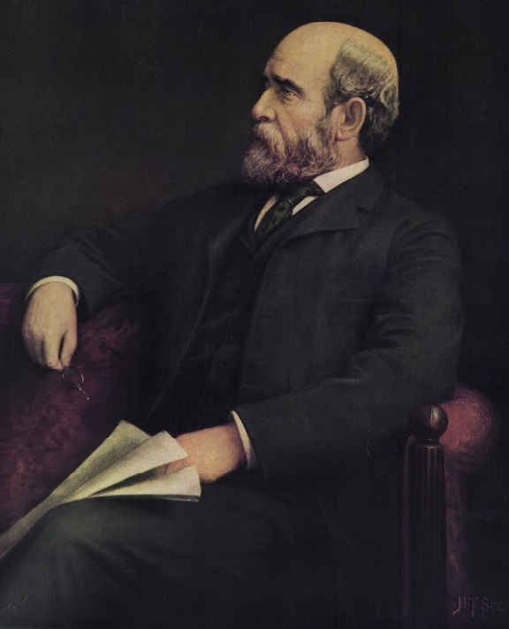 Henry George portrait